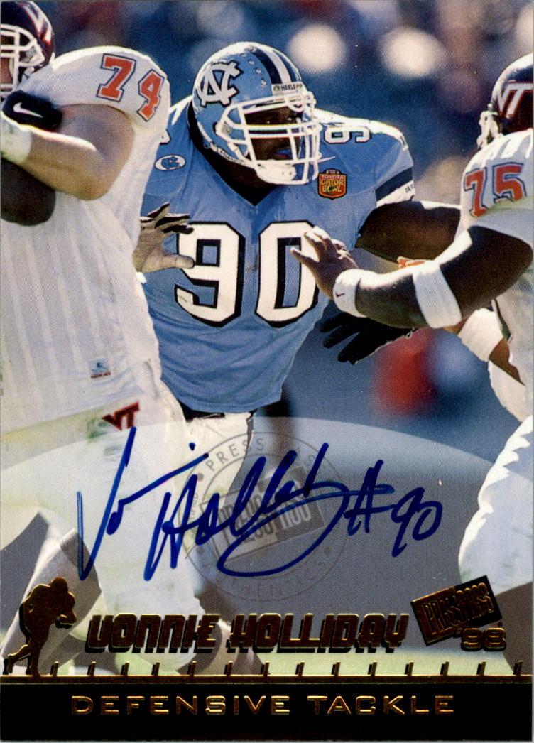 689f065e5 1998 Press Pass Autographs  26 Vonnie Holliday