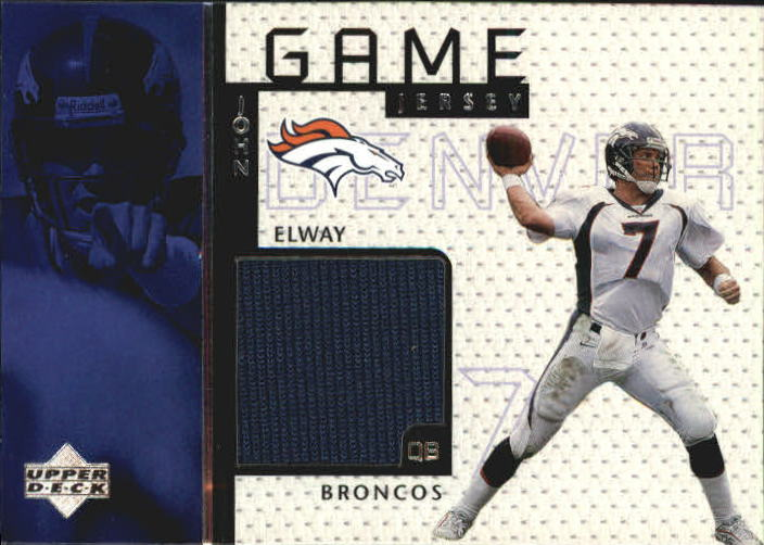 1998 Upper Deck Game Jerseys #GJ4 John Elway
