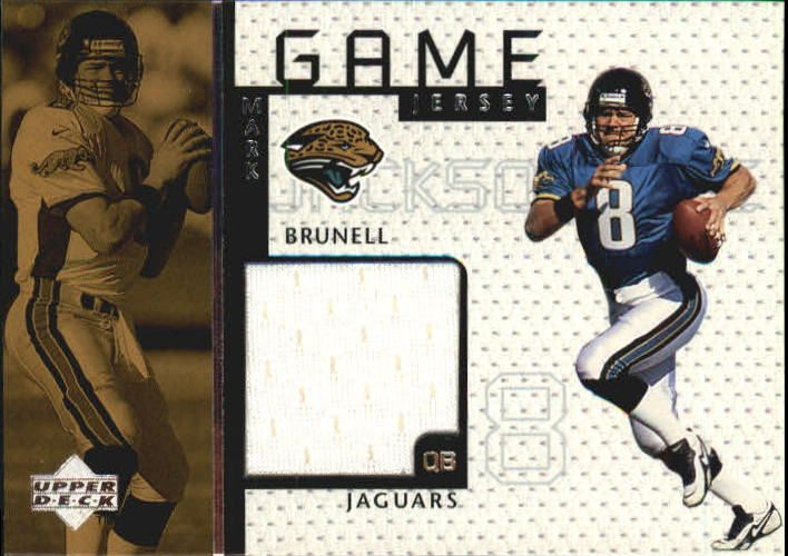 1998 Upper Deck Game Jerseys #GJ5 Mark Brunell
