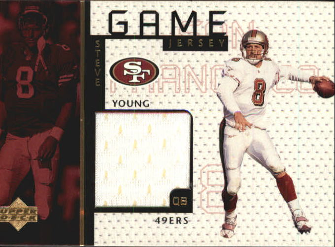 1998 Upper Deck Game Jerseys #GJ13 Steve Young