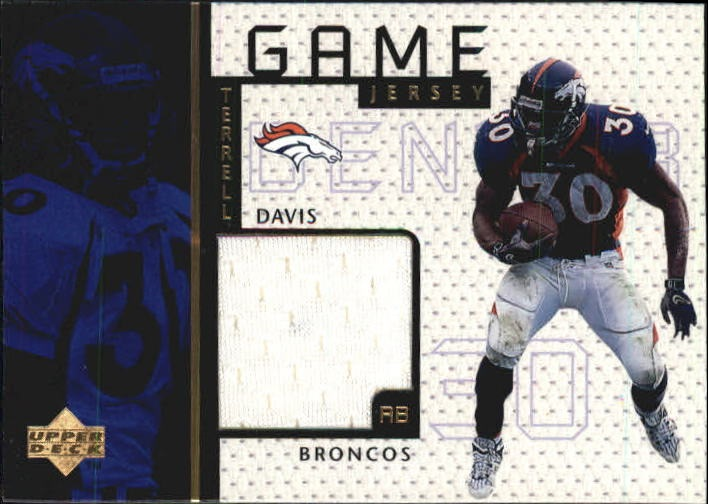 1998 Upper Deck Game Jerseys #GJ14 Terrell Davis