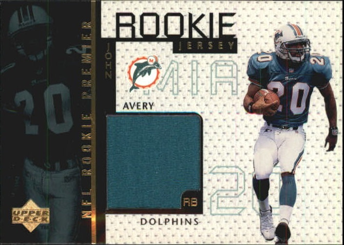1998 Upper Deck Game Jerseys #GJ20 John Avery