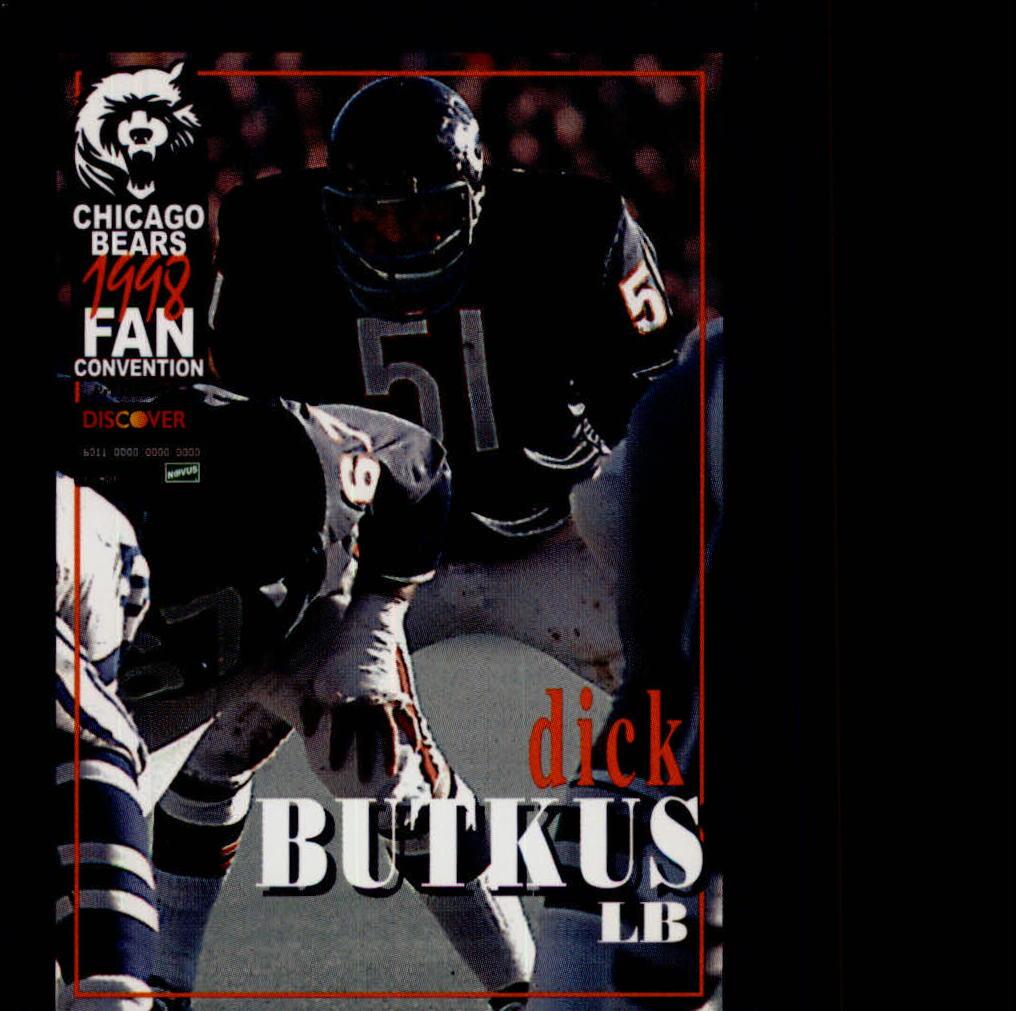 1998 Bears Fan Convention #7 Dick Butkus