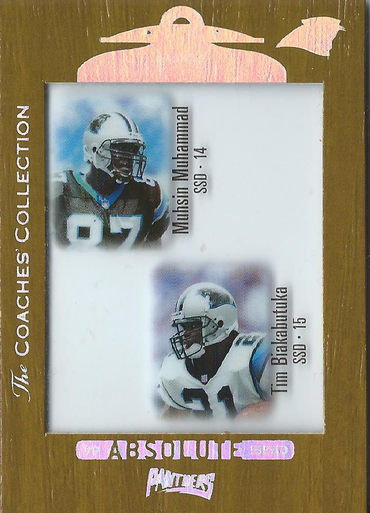 1999 Absolute SSD Coaches Collection Silver #134 Panthers CL