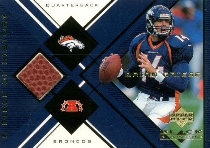 1999 Black Diamond A Piece of History #BG Brian Griese H