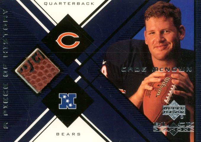 1999 Black Diamond A Piece of History #CM Cade McNown H/R