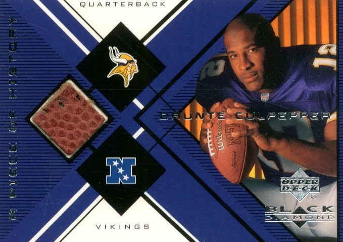 1999 Black Diamond A Piece of History #DC Daunte Culpepper H/R