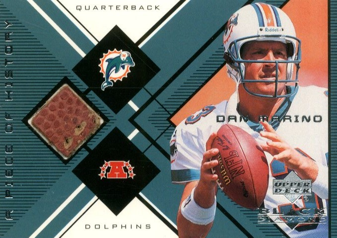 1999 Black Diamond A Piece of History #DM Dan Marino H/R