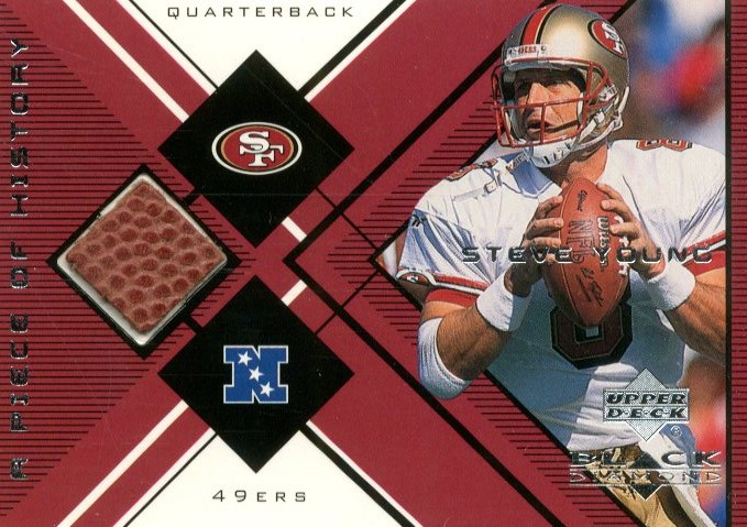 1999 Black Diamond A Piece of History #SY Steve Young H/R