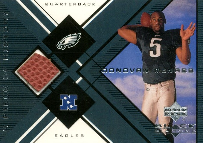 1999 Black Diamond A Piece of History #DMC Donovan McNabb H/R
