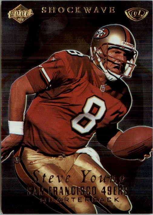1999 Collector's Edge Advantage Shockwaves #SW18 Steve Young