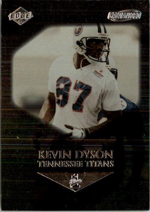1999 Collector's Edge First Place Galvanized #142 Kevin Dyson