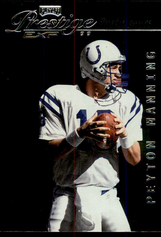 1999 Playoff Prestige EXP Performers #PP17 Peyton Manning