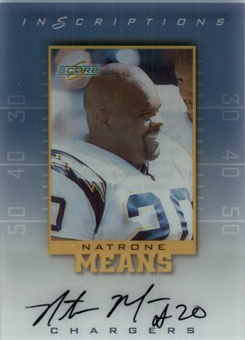1999 Score Supplemental Inscriptions #NM20 Natrone Means