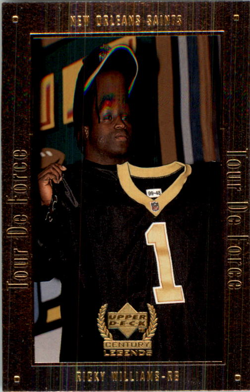 1999 Upper Deck Century Legends Tour de Force #A2 Ricky Williams