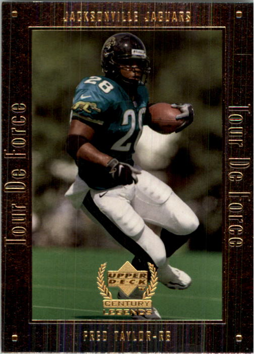 1999 Upper Deck Century Legends Tour de Force #A9 Fred Taylor