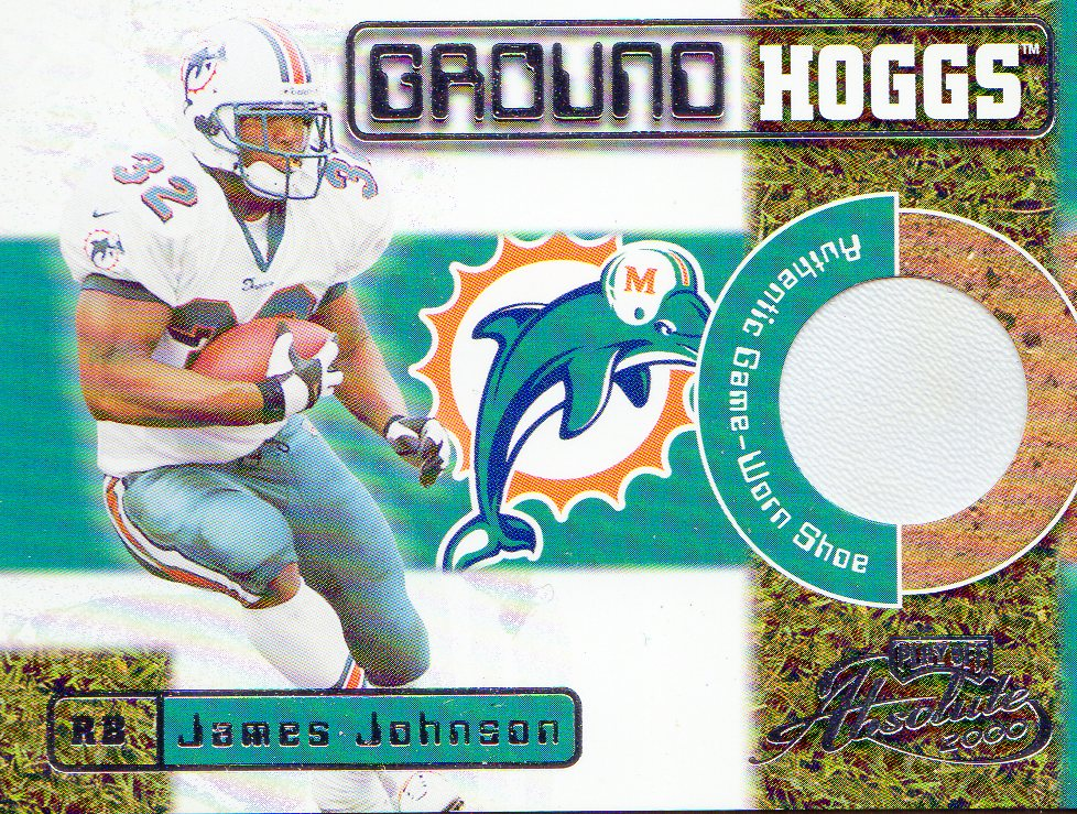 2000 Absolute Ground Hoggs Shoe #GH14 James Johnson/135