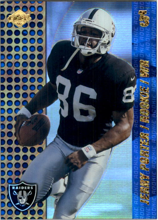 2000 Collector's Edge T3 HoloPlatinum #204 Jerry Porter