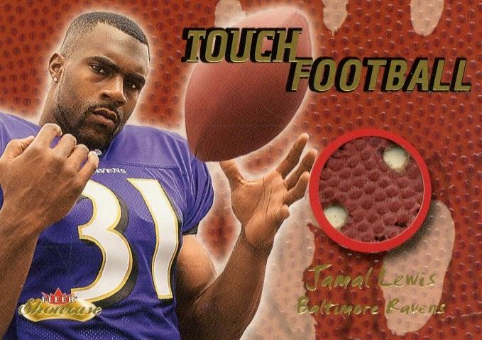 2000 Fleer Showcase Touch Football #15 Jamal Lewis