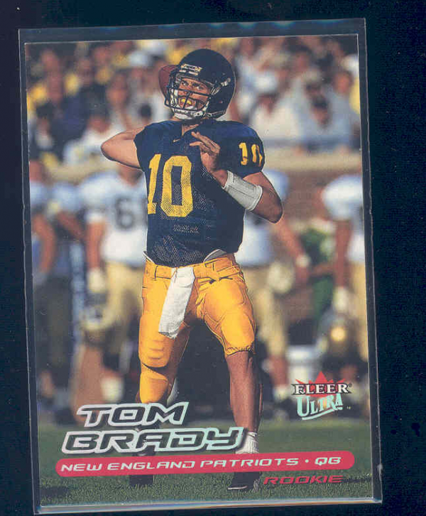 2000 Ultra #234 Tom Brady RC