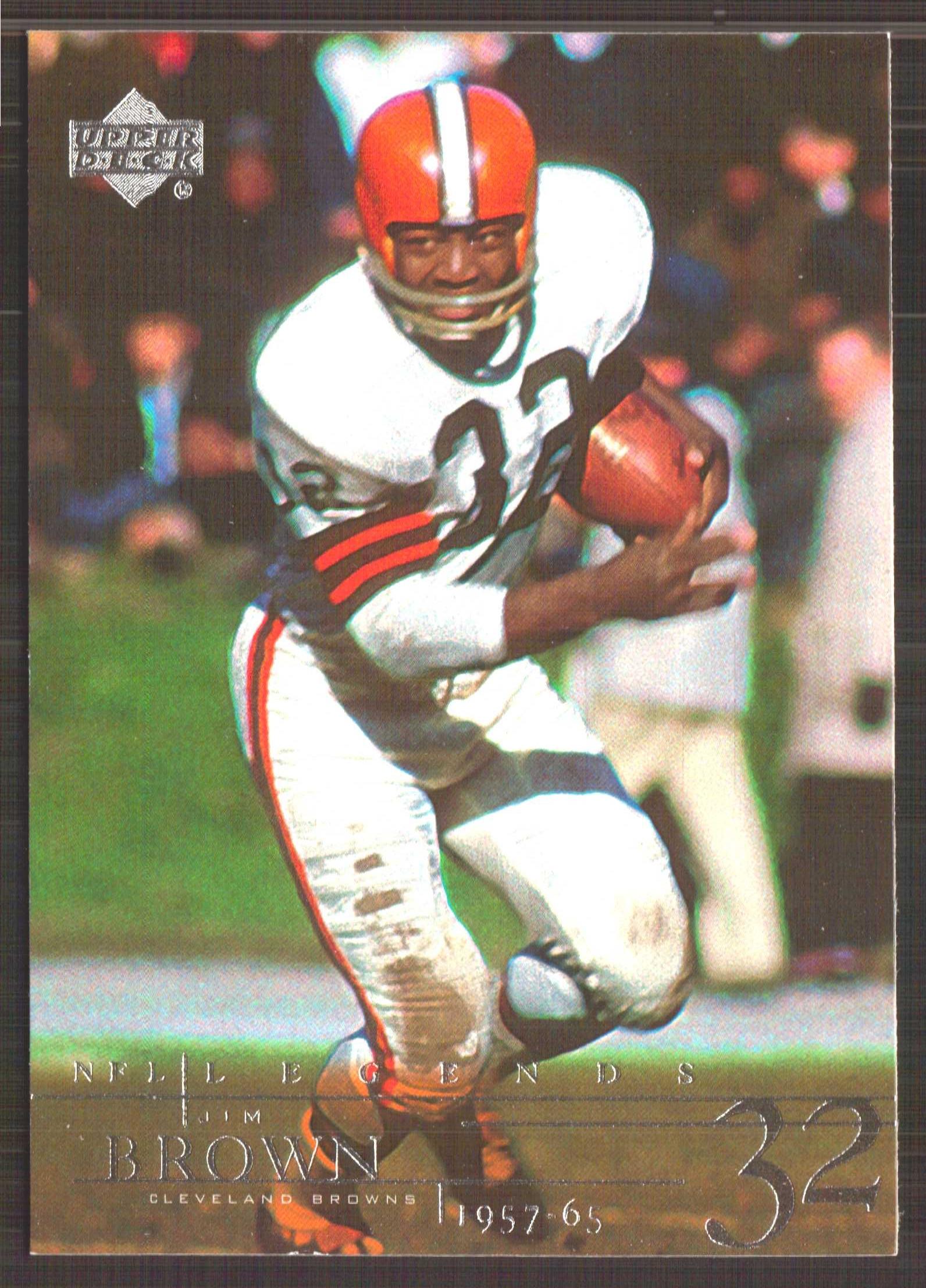 2001 Upper Deck Legends #15 Jim Brown