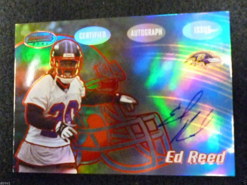 2002 Bowman's Best Red #133 Ed Reed AU