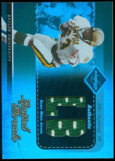 2003 Leaf Limited Threads Positions #LT77 Mike Singletary