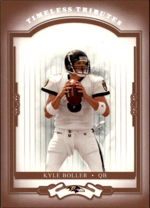 2004 Donruss Classics Timeless Tributes Red #7 Kyle Boller