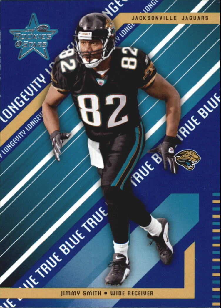 2004 Leaf Rookies and Stars Longevity True Blue Parallel #44 Jimmy Smith