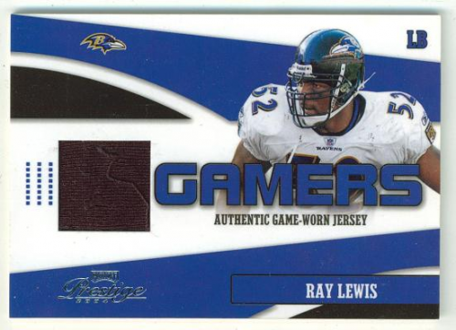 2004 Playoff Prestige Gamers Jerseys #G3 Ray Lewis