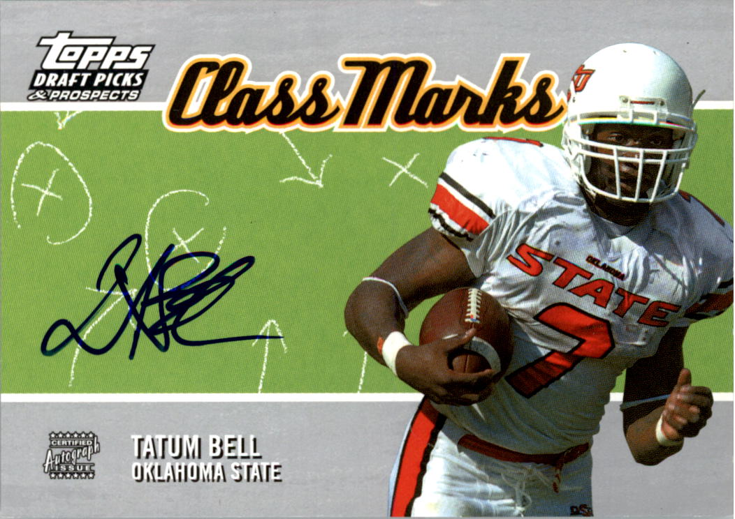 2004 Topps Draft Picks and Prospects Class Marks Autographs #CMTB Tatum Bell F