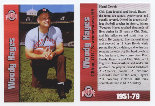 2004 Ohio State Greats #18 Woody Hayes CO