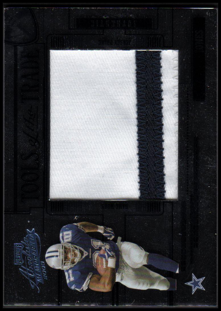 2005 Absolute Memorabilia Tools of the Trade Material Blue Spectrum #48 Julius Jones