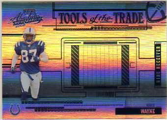 2005 Absolute Memorabilia Tools of the Trade Blue Spectrum #75 Reggie Wayne
