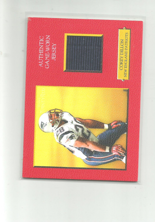 2005 Topps Turkey Red Relics Red #TRRCD Corey Dillon