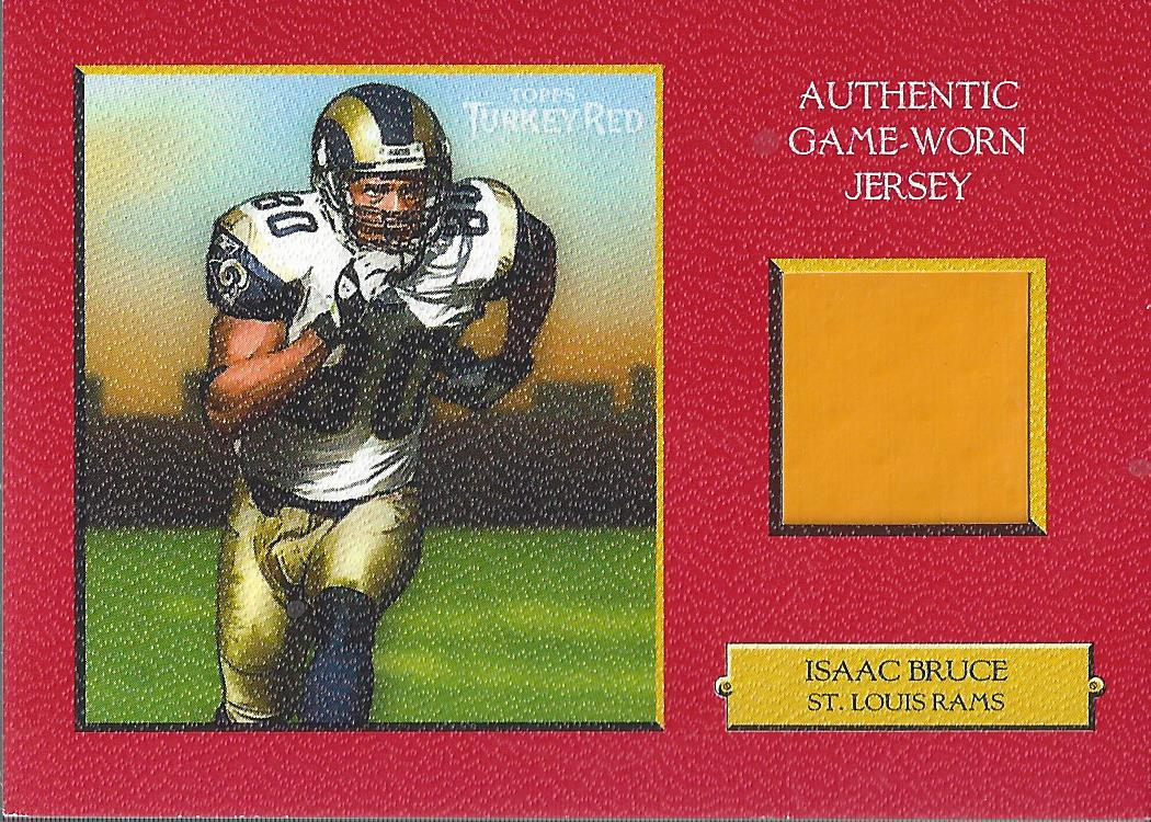 2005 Topps Turkey Red Relics Red #TRRIB Isaac Bruce