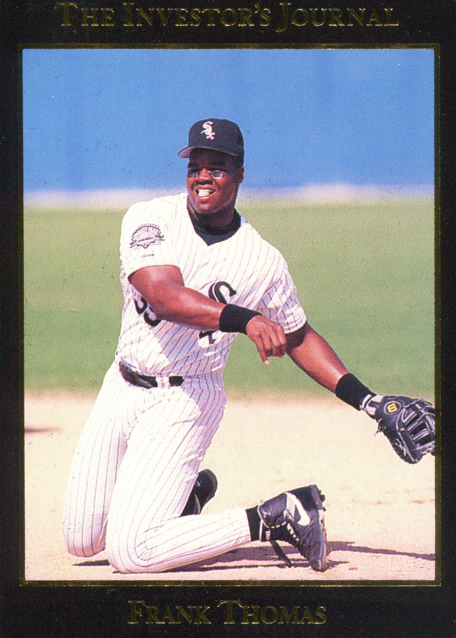 1993 Investors Journal Black Gold Foil Baseball Card 13 Frank