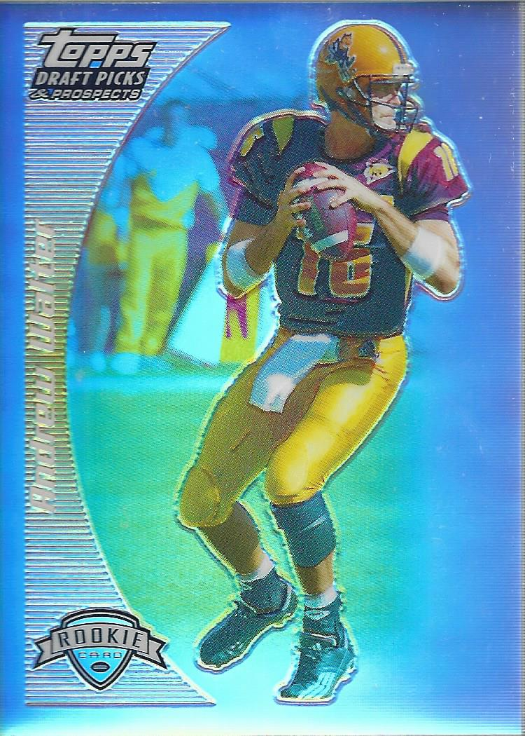 2005 Topps Draft Picks and Prospects Chrome Gold Refractors #126 Andrew Walter