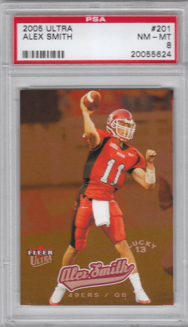 2005 Ultra #201 Alex Smith QB L13 RC