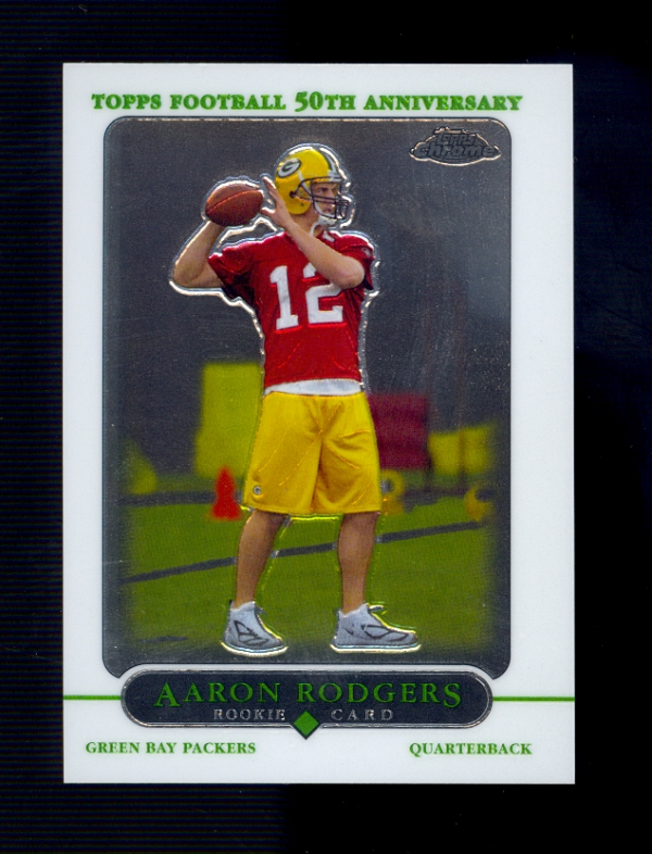 2005 Topps Chrome #190 Aaron Rodgers RC