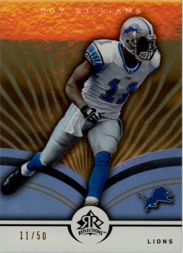 2005 Reflections Gold #30 Roy Williams WR