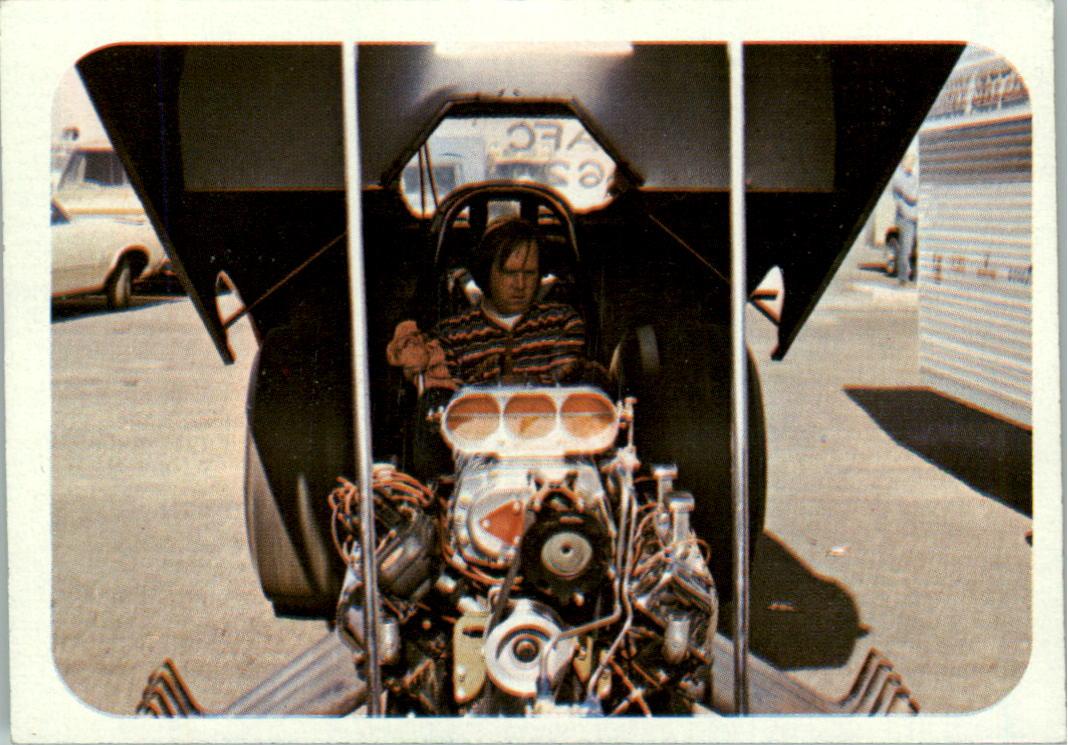 1973 Fleer AHRA Race USA #40 Pat Foster's Car