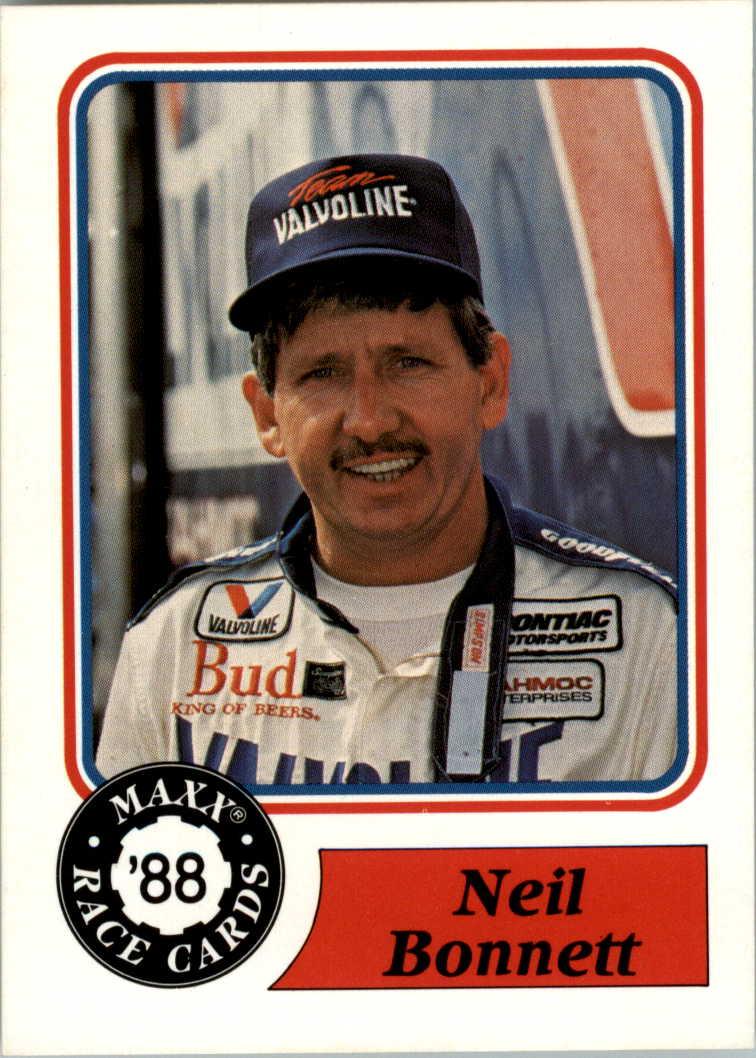 1988 Maxx Charlotte #20 Neil Bonnett RC