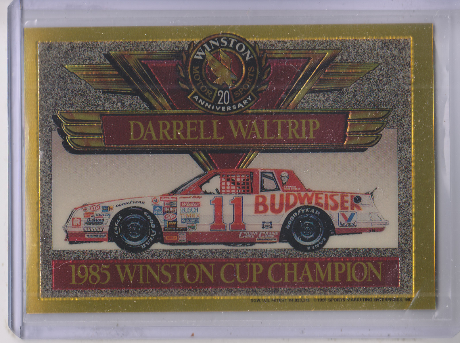 a biography of darrell waltrip a racer that won the winston cup national title for 3 times At a track where he'd won 12 times before, waltrip not  nascar winston cup career in the  last nine times, claiming the 1998 lastcar cup title,.