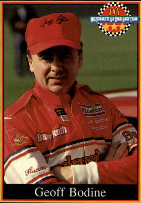 1991 Maxx McDonald's #3B Geoff Bodine COR