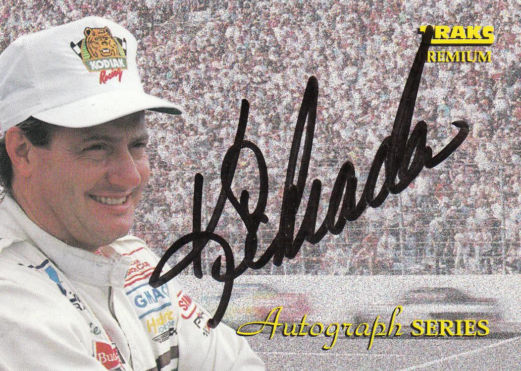 1994 Traks Autographs #A11 Ken Schrader