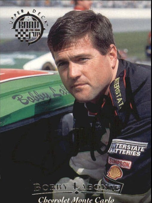 1996 Upper Deck Road To The Cup Autographs #H9 Bobby Labonte