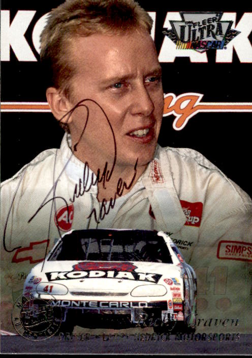 1996 Ultra Autographs #8 Ricky Craven
