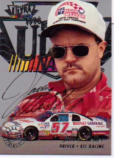 1996 Ultra Autographs #14 Jason Keller