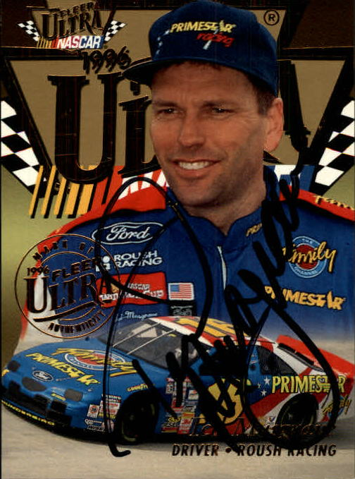 1996 Ultra Autographs #25 Ted Musgrave